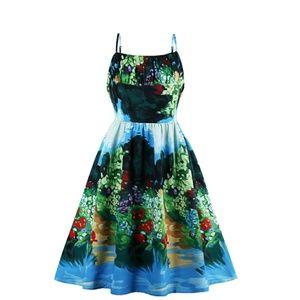 Summer retro dress